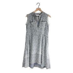 Madewell Willowleaf Printed Shirtdress